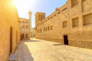 Quartiere storico di Dubai Old Creek Al Fahidi