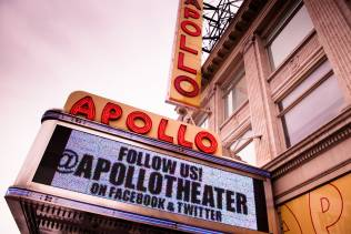 L'Apollo Theater a New York.
